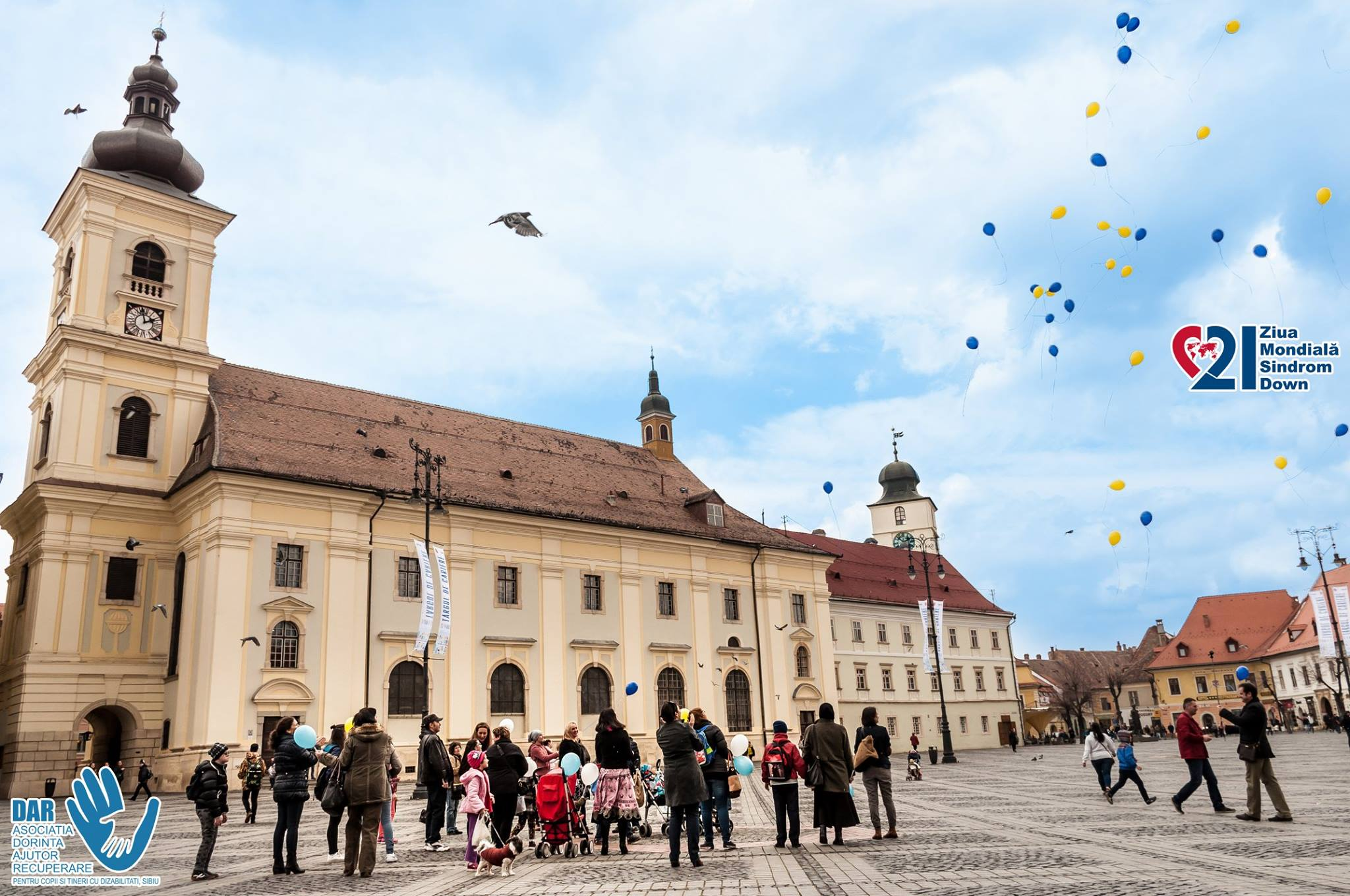 Ziua internațională a Sindromului Down - Asociatia DAR Sibiu